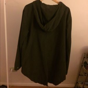 Forever 21 Rain coat large pocket and large hoodie
